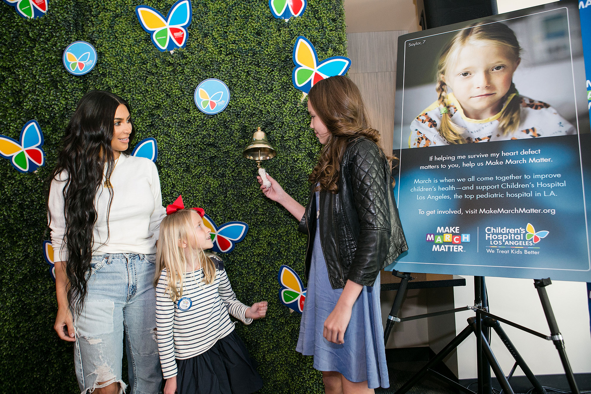 Kim Kardashian West Credit: Children's Hospital Los Angeles