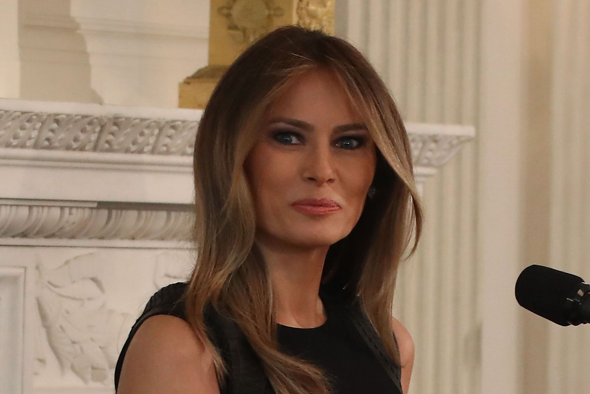 First Lady Melania Trump Hosts Lunch At White House On International Women's Day
