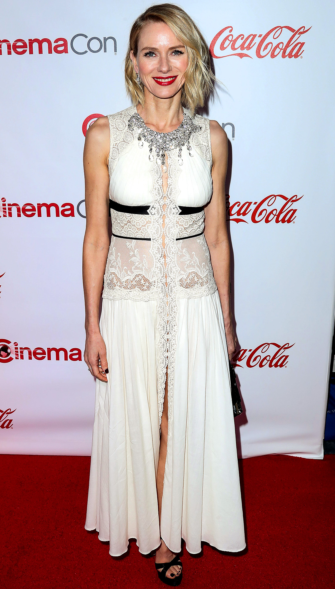 Naomi Watts arrives at the CinemaCon Big Screen Achievement Awards 2017