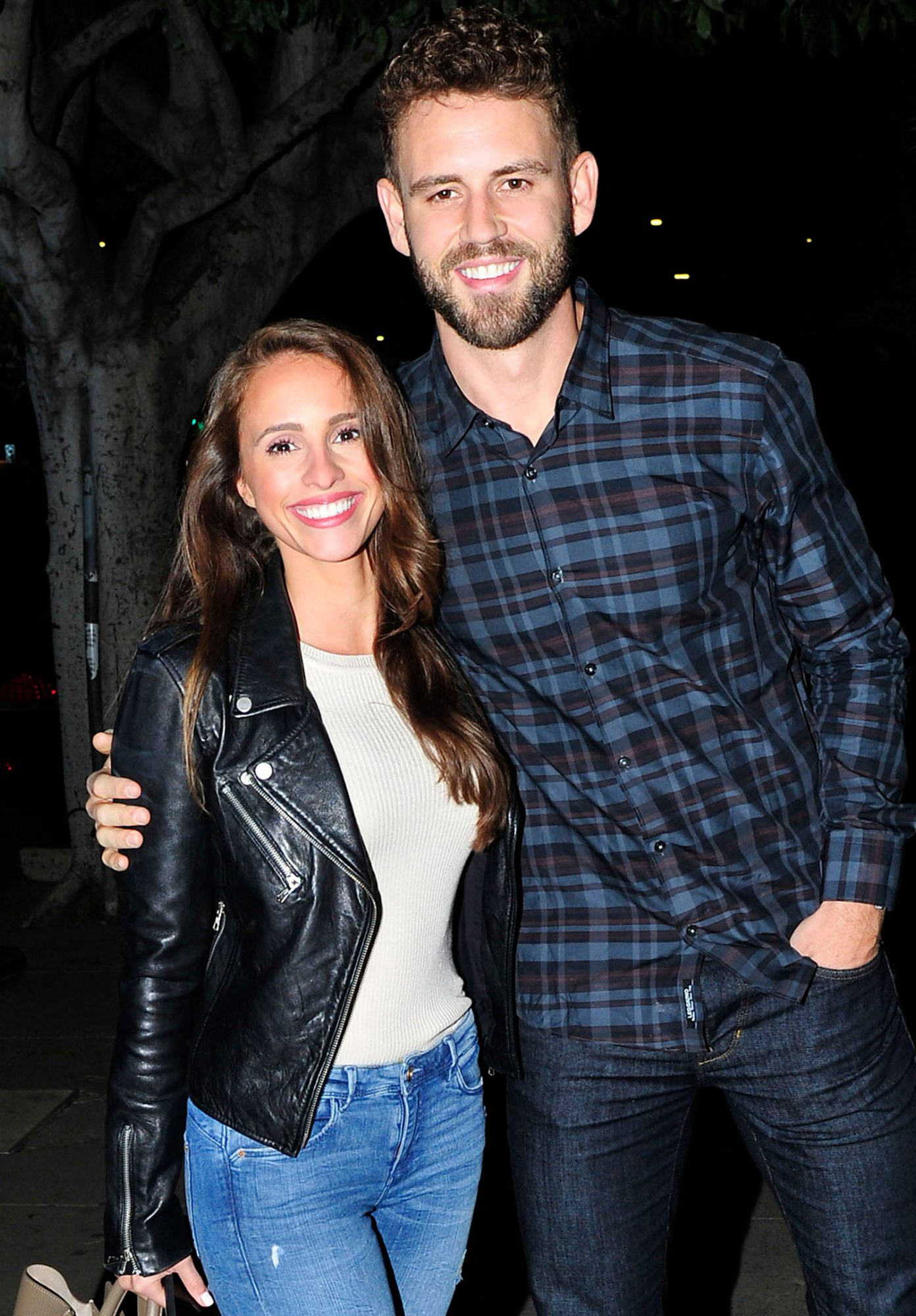 Nick Viall and Vanessa Grimaldi On A Dinner Date