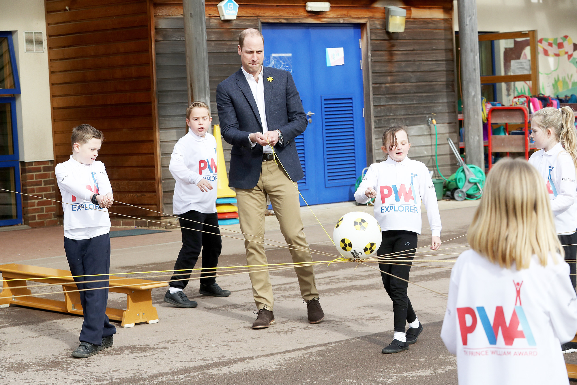 The Duke Of Cambridge Launches The SkillForce Prince William Award