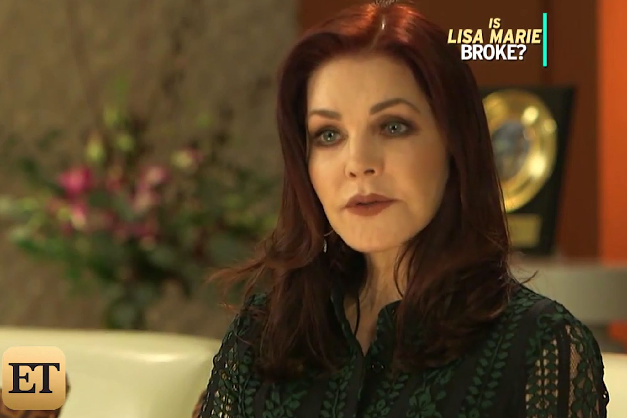 http://www.etonline.com/news/211859_exclusive_priscilla_presley_on_daughter_lisa_marie_court_battle_with_estranged_ex/ Priscilla Presley Opens Up About Daughter Lisa Marie's Court Battle With Estranged Ex