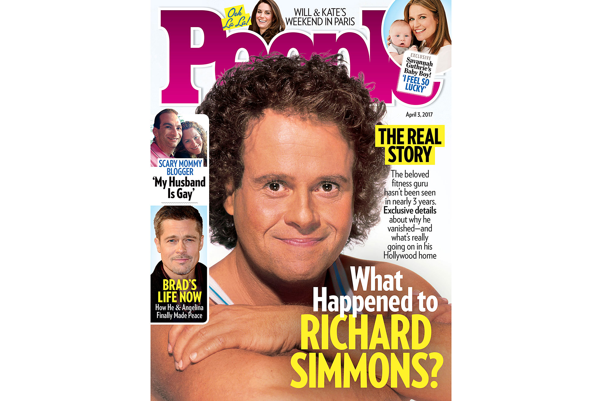 Richard Simmons cover