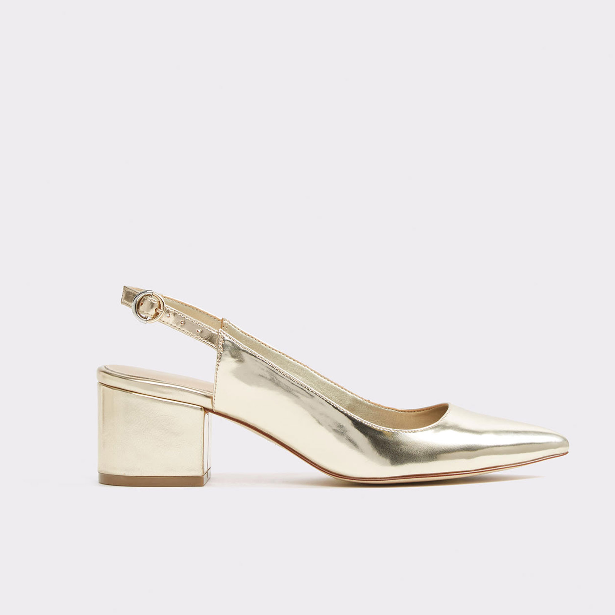 UNDER $100 SPRING FINDSSilver shoesCourtesy Aldo
