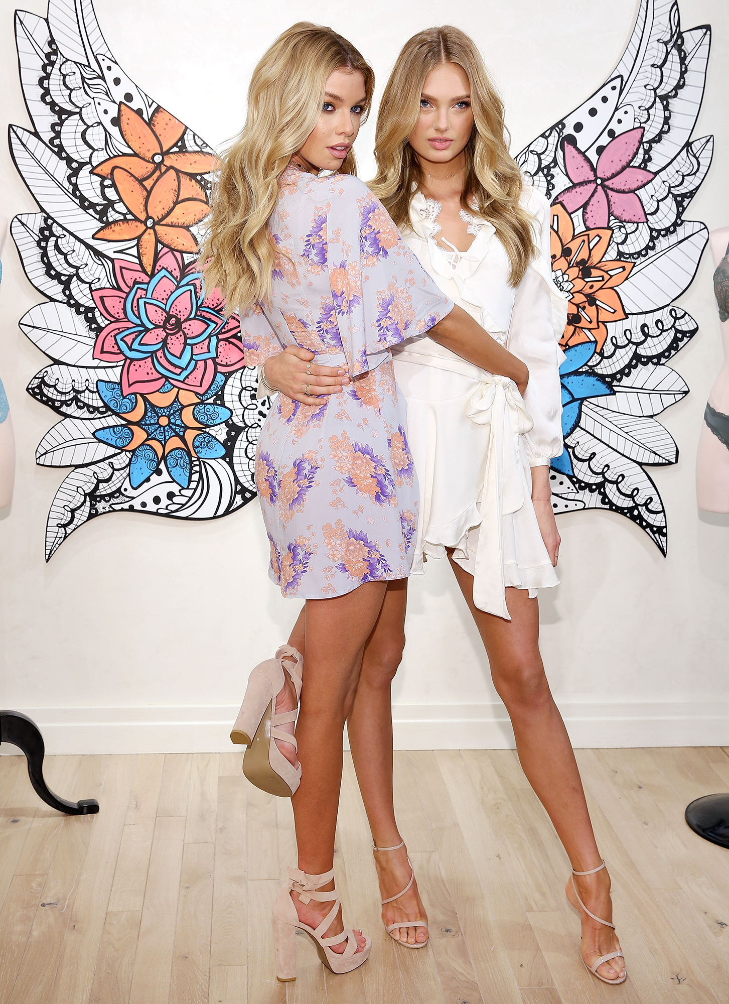 Victoria's Secret Angels Stella Maxwell And Romee Strijd Launch The New Dream Angels Collection