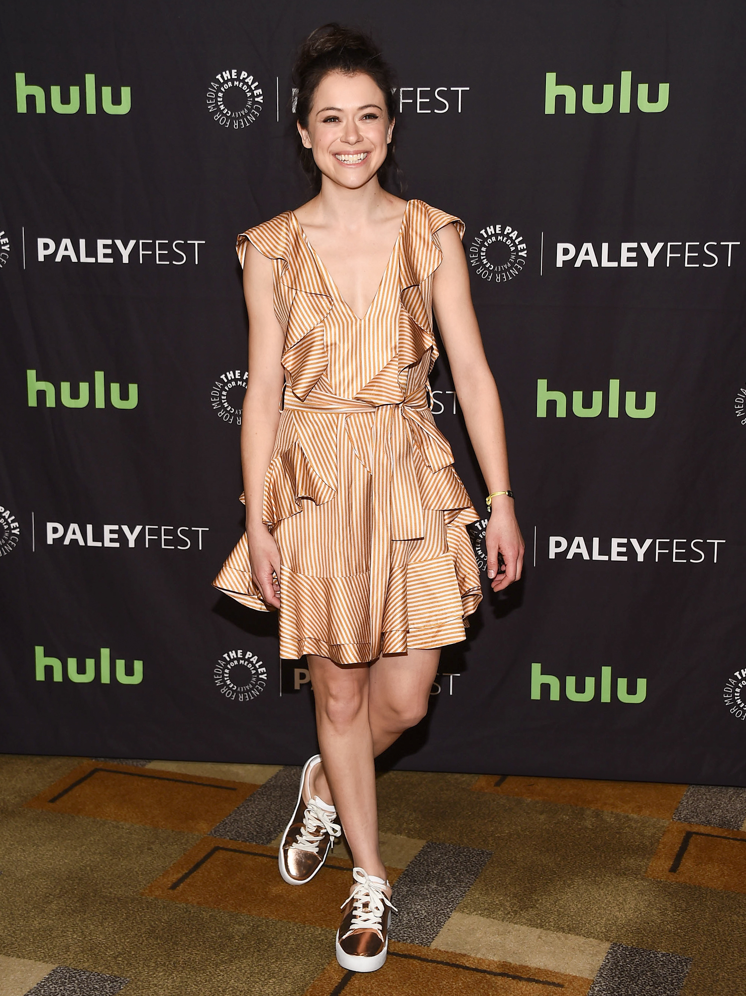 """The Paley Center For Media's 34th Annual PaleyFest Los Angeles - """"Orphan Black"""" - Arrivals"""