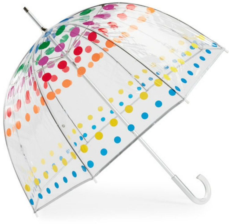 totes bubble manual umbrella jcpenney waterproof