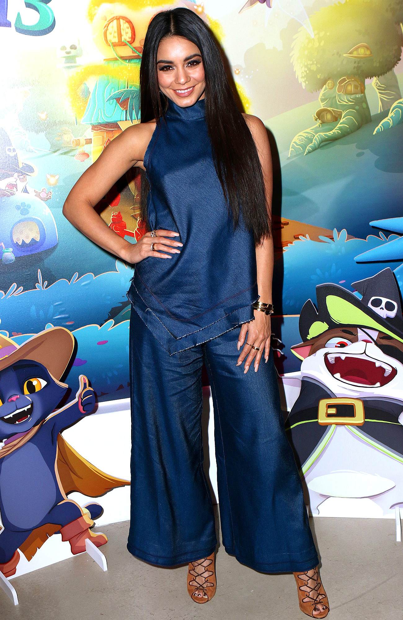 Vanessa Hudgens Launches '' Bubble Witch 3'' in NYC