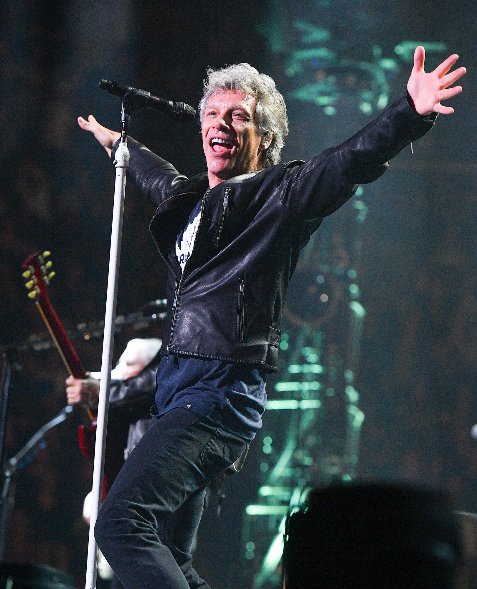 Jon Bon Jovi Performs At Air Canada Centre