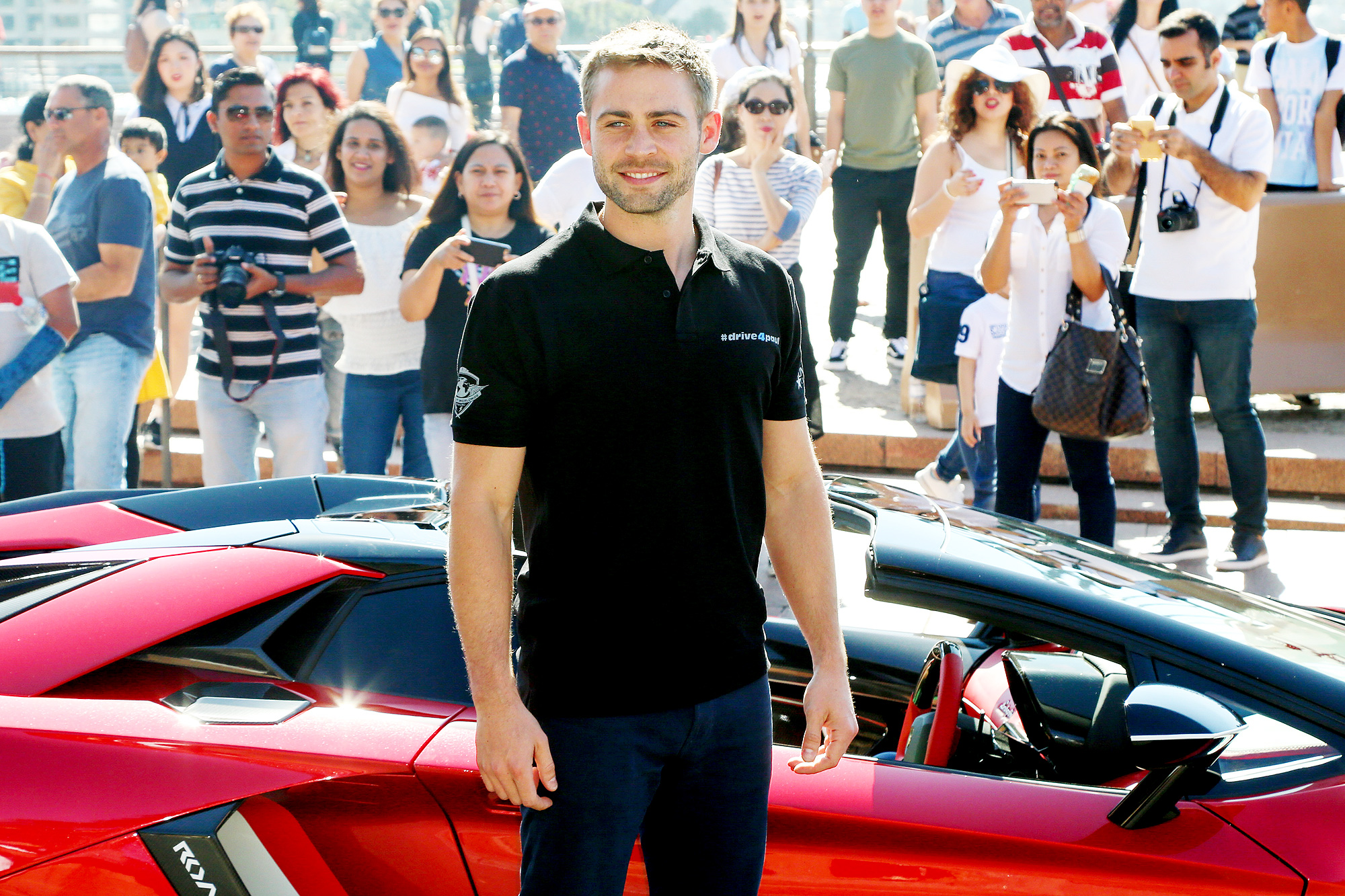 Cody Walker Makes an Appearance at the Sydney Opera House