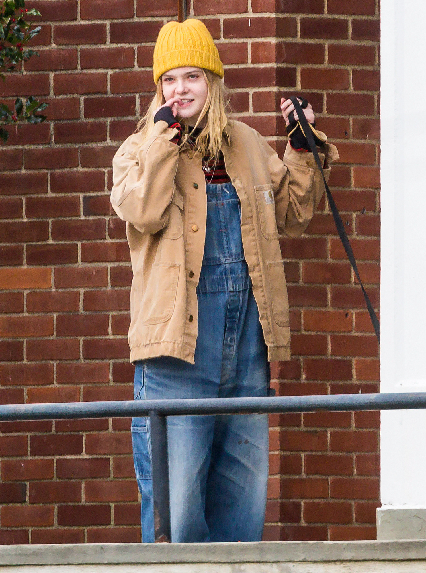 Stars On The Set Of 'I Think We're Alone Now'