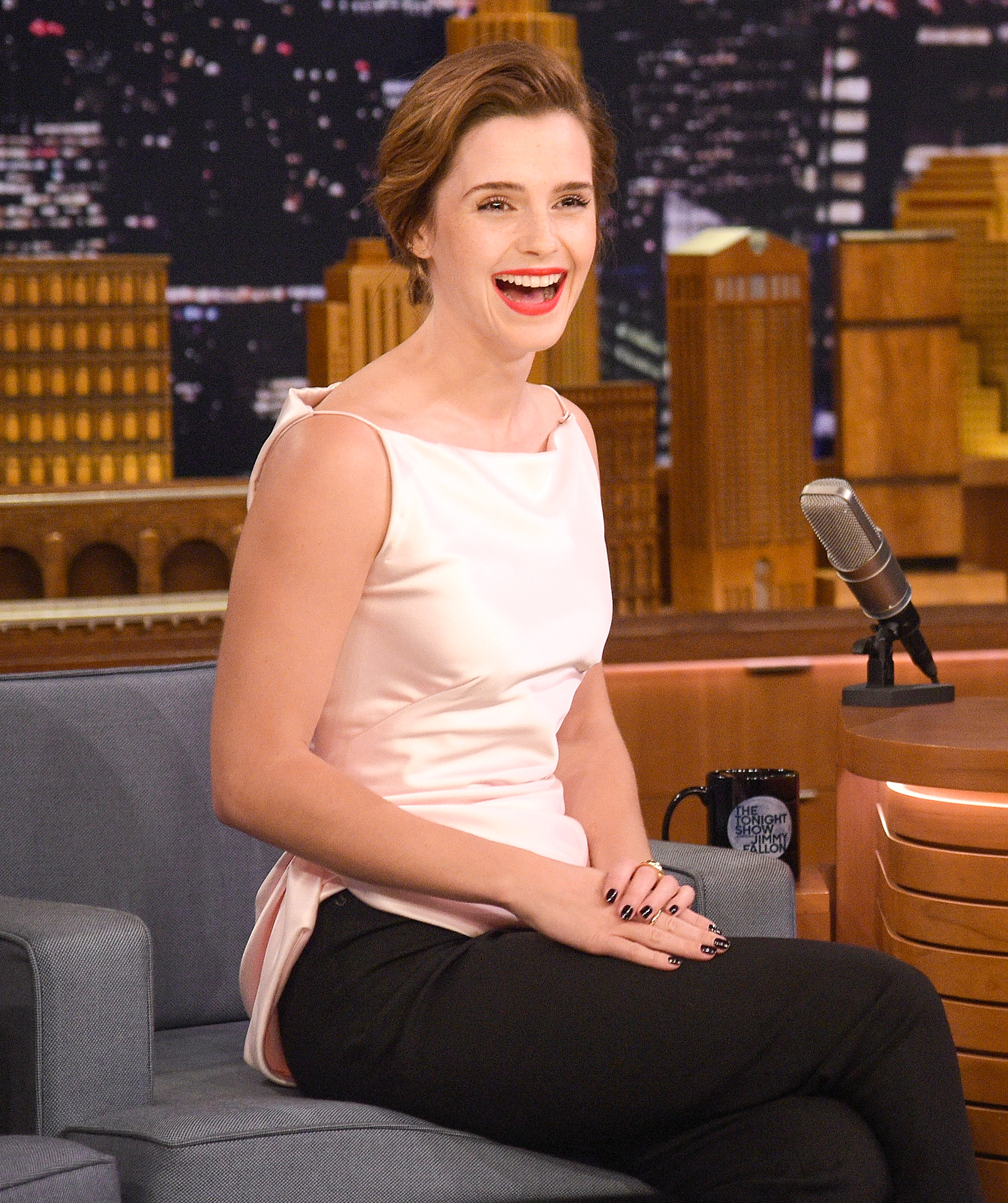 "Emma Watson Visits ""The Tonight Show Starring Jimmy Fallon"""