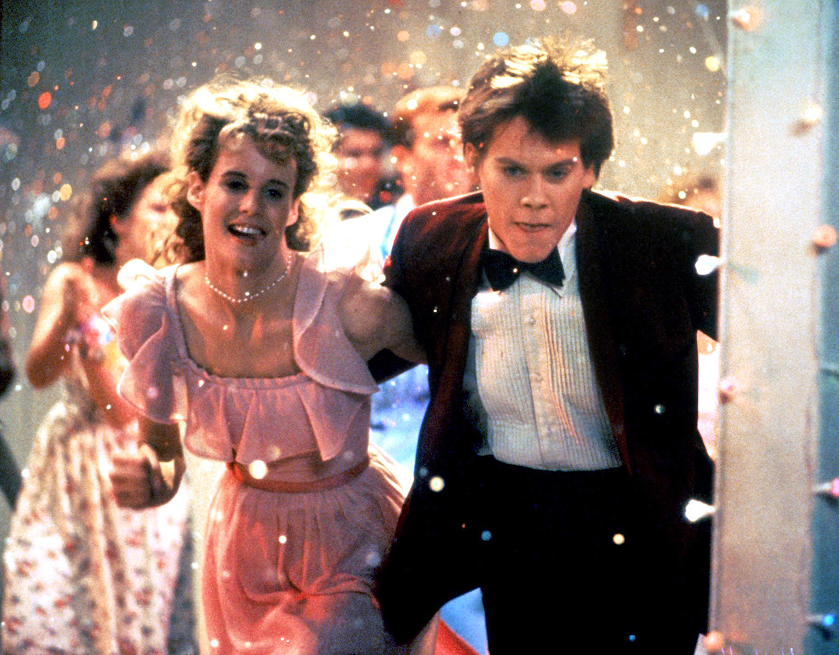 FOOTLOOSE, Lori Singer, Kevin Bacon, 1984, (c) Paramount/courtesy Everett Collection