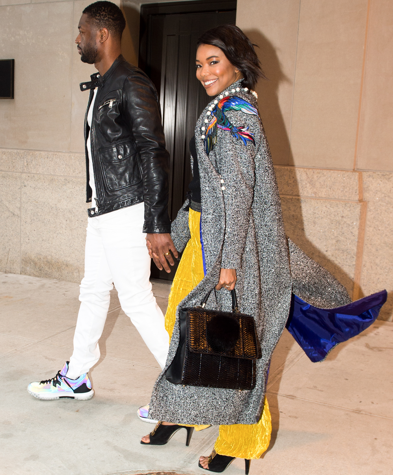 EXCLUSIVE: Gabrielle Union and Dwayne Wade in NYC