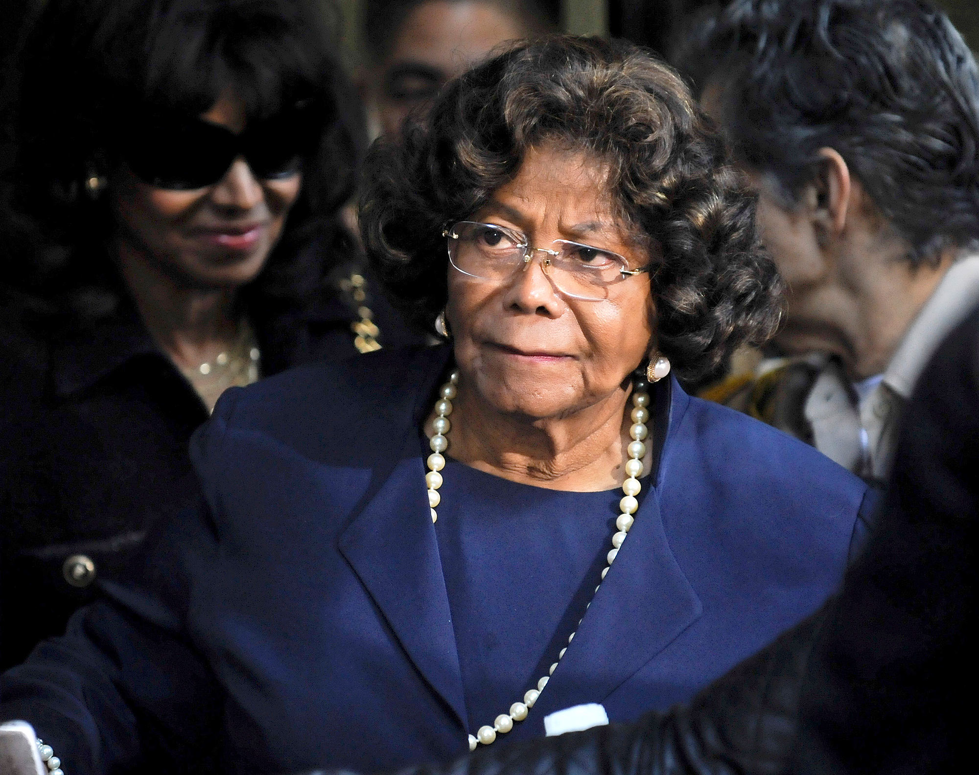 File Photo: Katherine Jackson claims she is the subject elderly abuse by one of her Nephews.