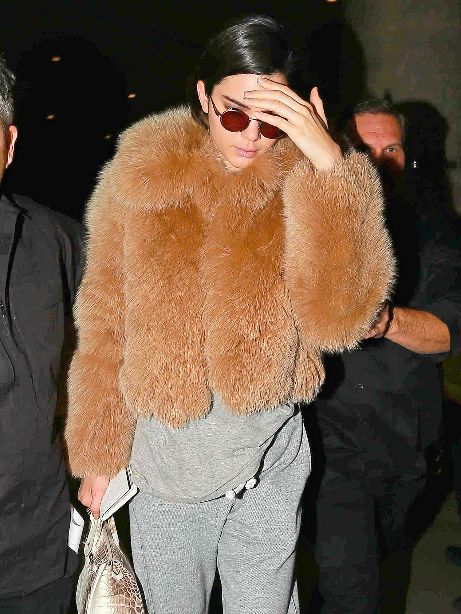 Kendall Jenner Touches Down At LAX
