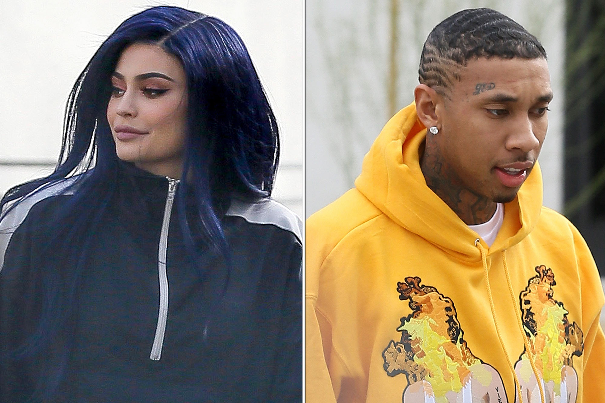 *EXCLUSIVE* Hollywood, CA - Kylie Jenner channelled her new blue hair color this afternoon while out with friends during a shopping trip. AKM-GSI February 8, 2017 To License These Photos, Please Contact: Maria Buda (917) 242-1505 mbuda@akmgsi.com sales@akmgsi.com or Mark Satter (317) 691-9592 msatter@akmgsi.com sales@akmgsi.com www.akmgsi.com *EXCLUSIVE* Hollywood, CA - Tyga visits Kylie with a new car and haircut at the studio in Hollywood. AKM-GSI February 8, 2017 To License These Photos, Please Contact : Maria Buda (917) 242-1505 mbuda@akmgsi.com sales@akmgsi.com or Mark Satter (317) 691-9592 msatter@akmgsi.com sales@akmgsi.com www.akmgsi.com
