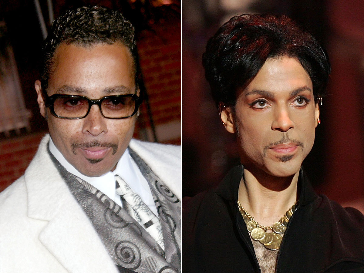 Morris Day Prince tributeCredit: Jim Smeal/WireImage; Kevin Winter/Getty