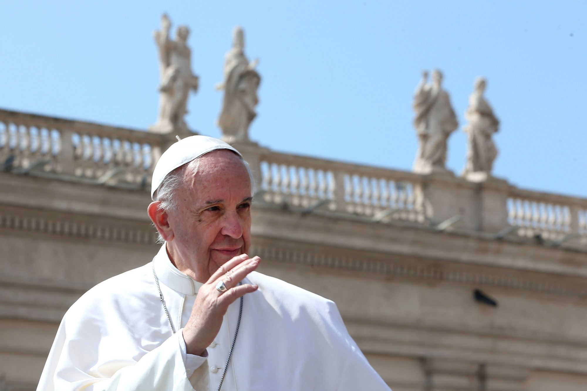 Pope Francis Holds The Easter Mass and Delivers His Urbi Et Orbi Blessing