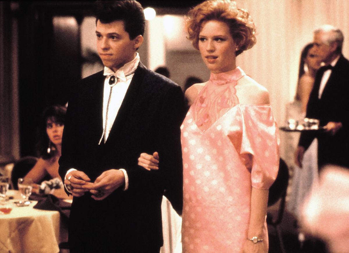 PRETTY IN PINK, Jon Cryer, Molly Ringwald, 1986, © Paramount / Courtesy: Everett Collection