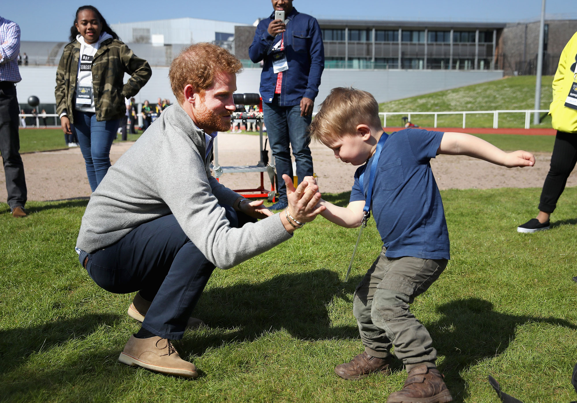 Prince Harry Visits Bath With Invictus Games