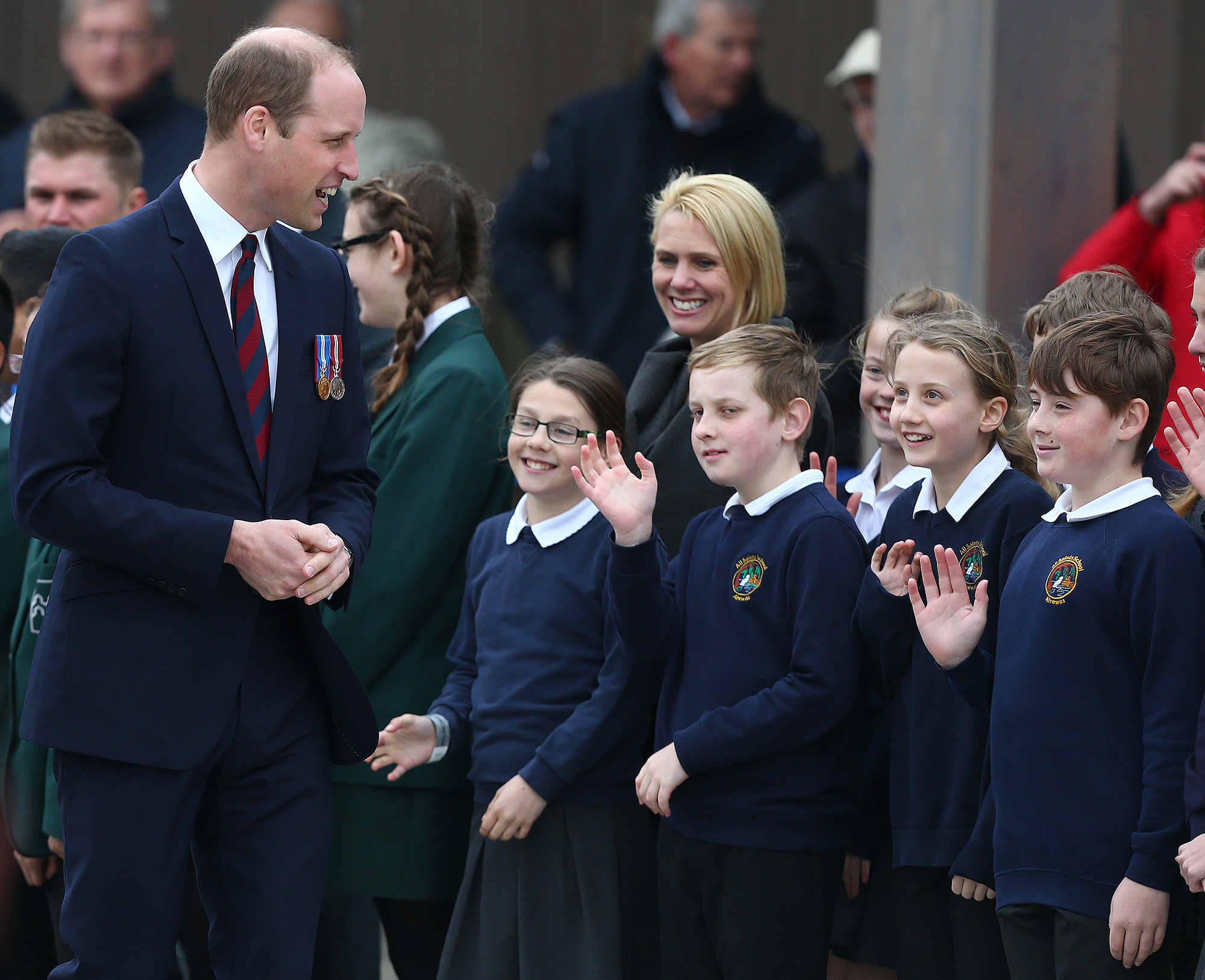 The Duke Of Cambridge Opens New Remembrance Centre At The National Memorial Arboretum
