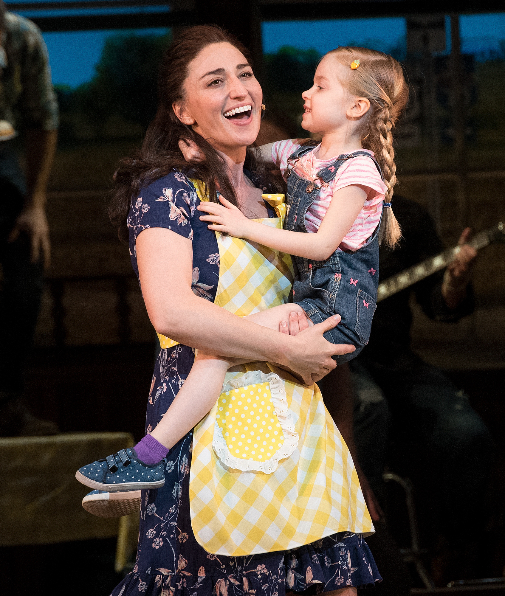 Waitress Broadway See Katharine Mcphee In Costume For First Time People Com