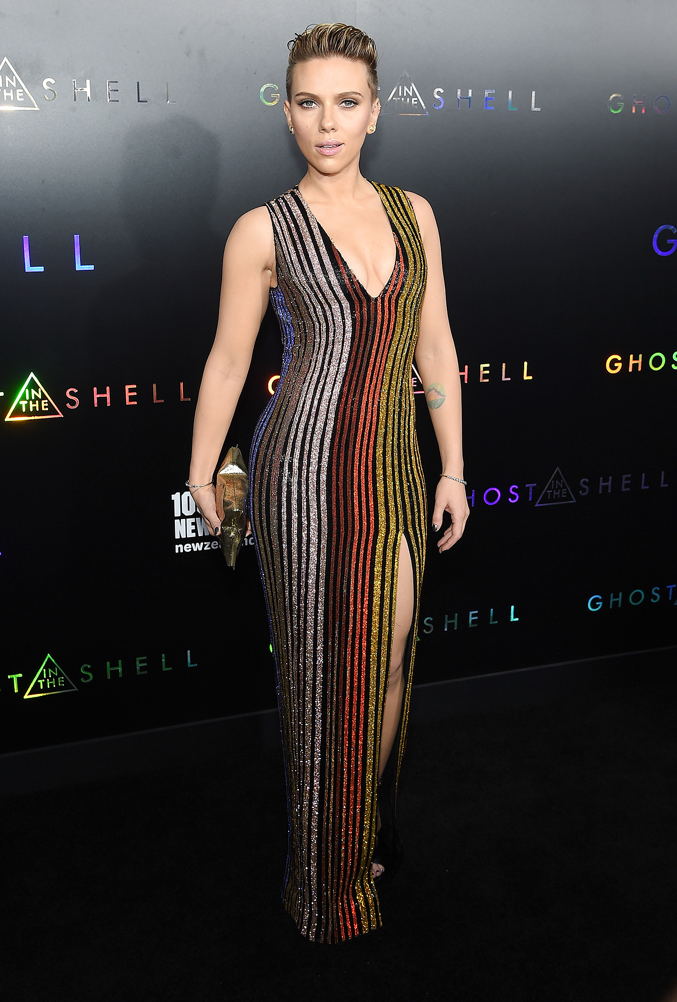 "Paramount Pictures & DreamWorks Pictures Host The Premiere Of ""Ghost In The Shell"" - Arrivals"
