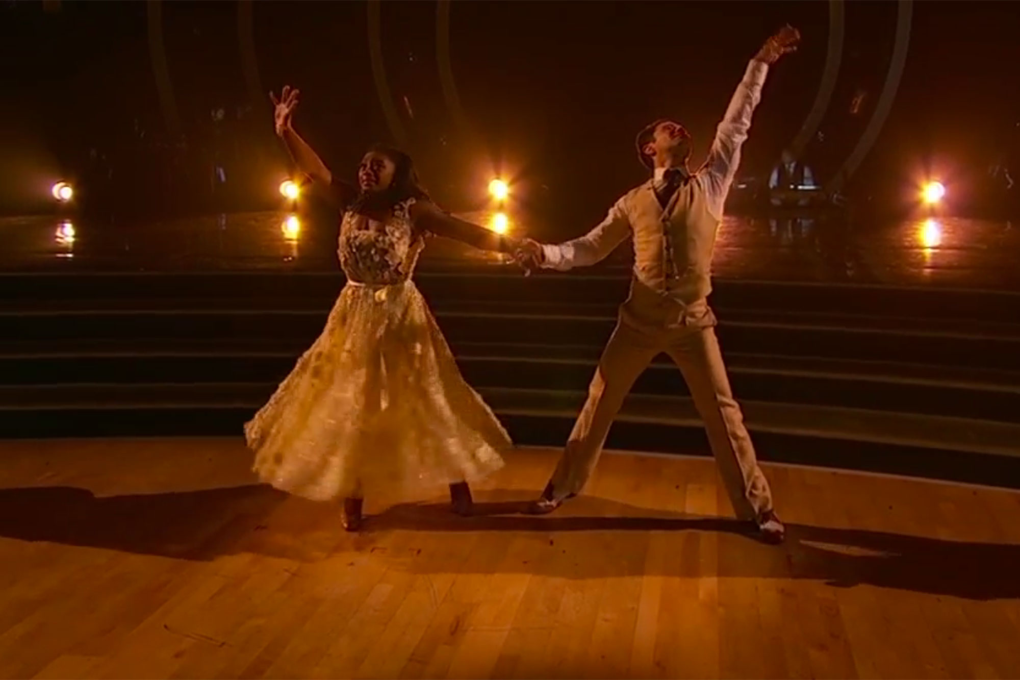 Simone Biles DWTSCredit: ABC