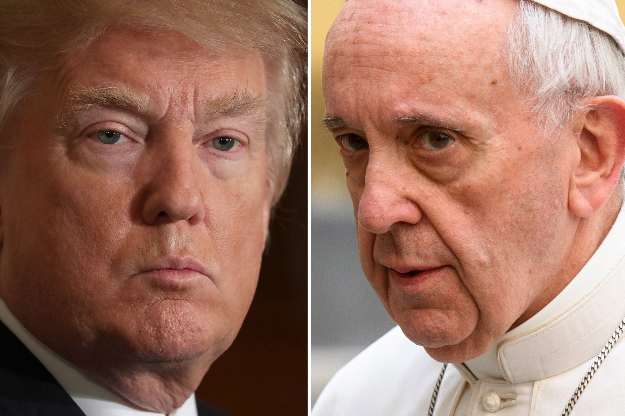 trump-pope-francis