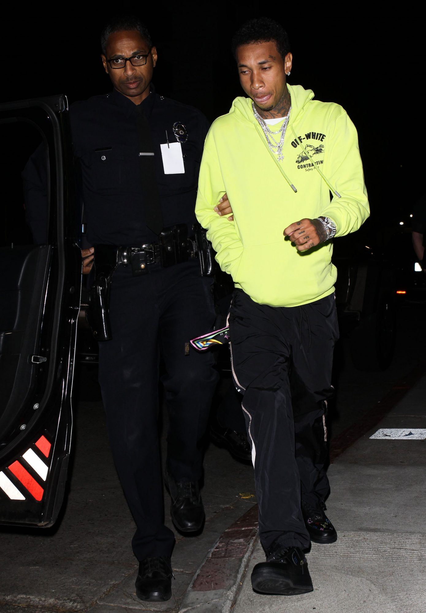 Tyga arrested by LAPD after leaving Avenue Nightclub