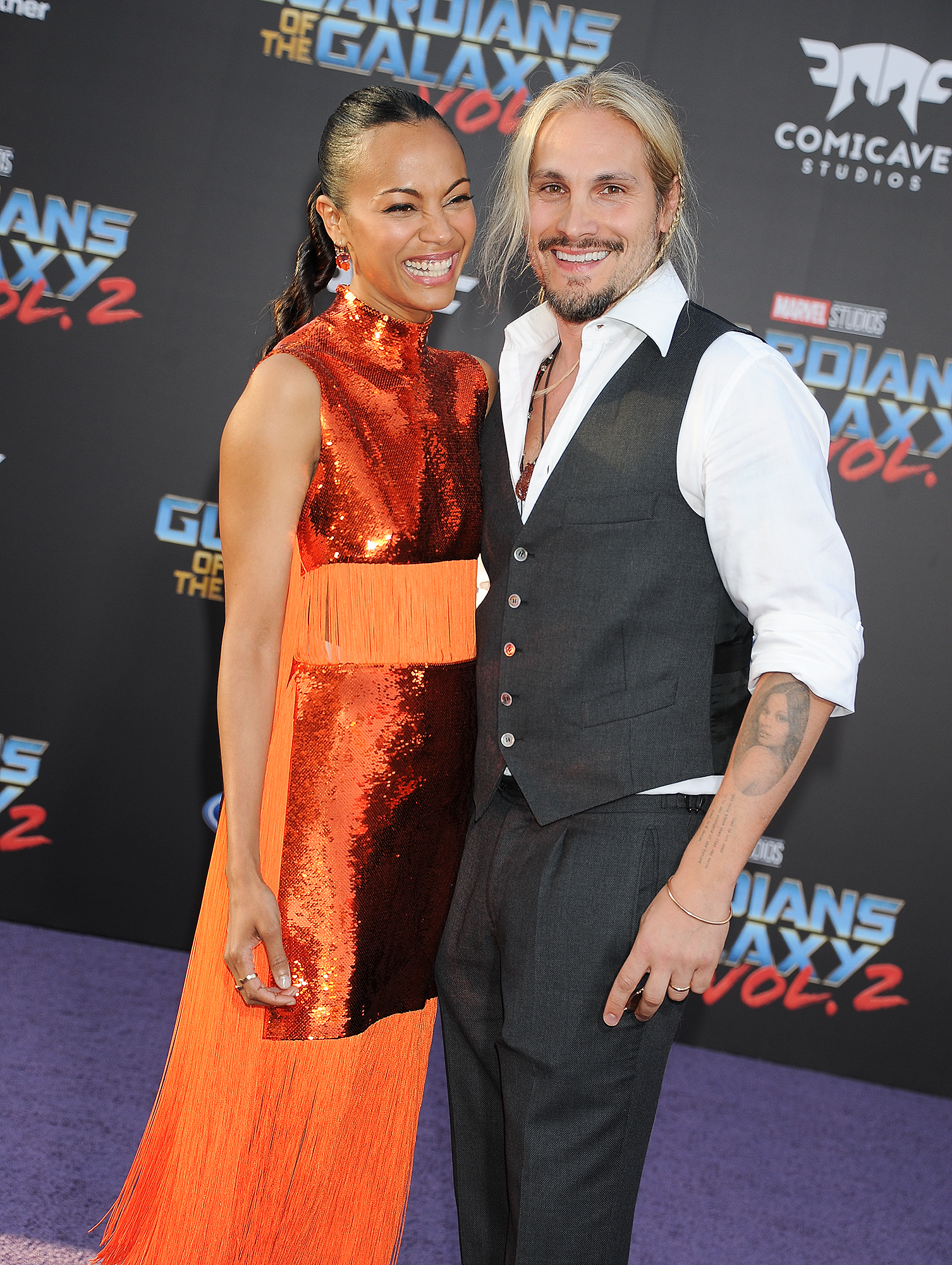 """Premiere Of Disney And Marvel's """"Guardians Of The Galaxy Vol. 2."""" - Arrivals"""