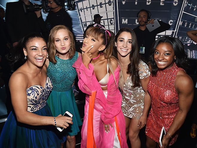 THEY WERE PSYCHED TO HANG WITH ARIANA GRANDE