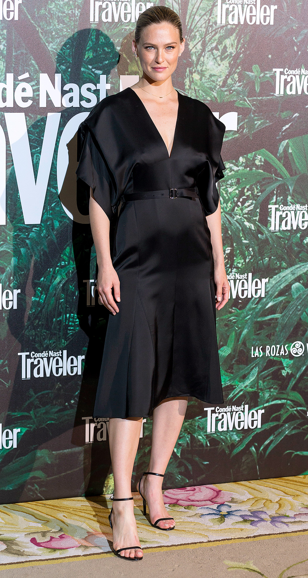 Bar Rafaeli attends the 'Conde Nast Traveler awards' photocall at Ritz hotel on May 4, 2017 in Madrid, Spain
