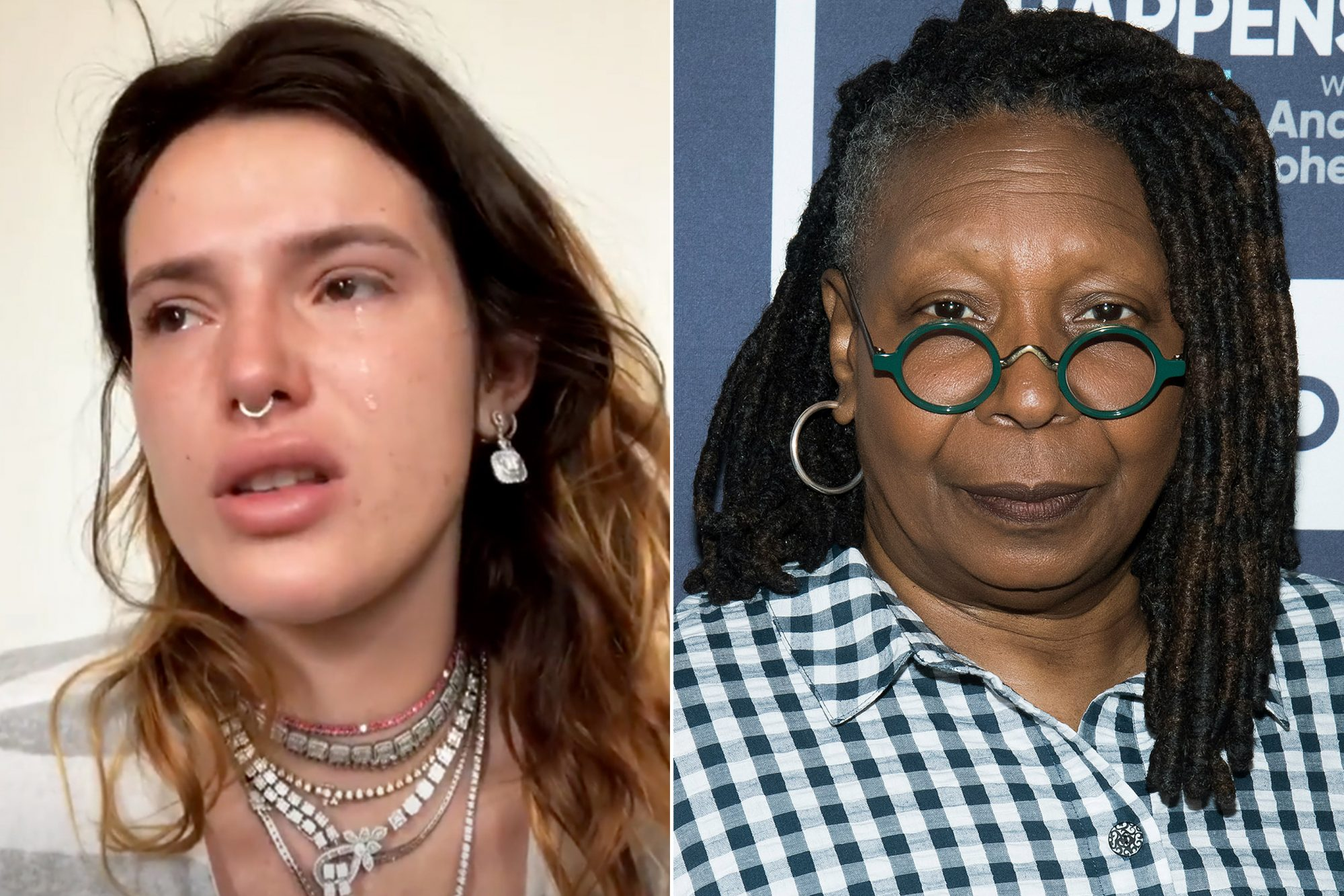 Bella Thorne, Whoopi Goldberg