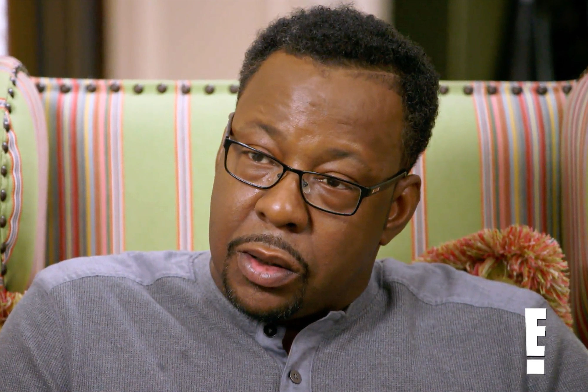 Bobby Brown Connects to Ex-Wife Whitney HoustonCredit: E!