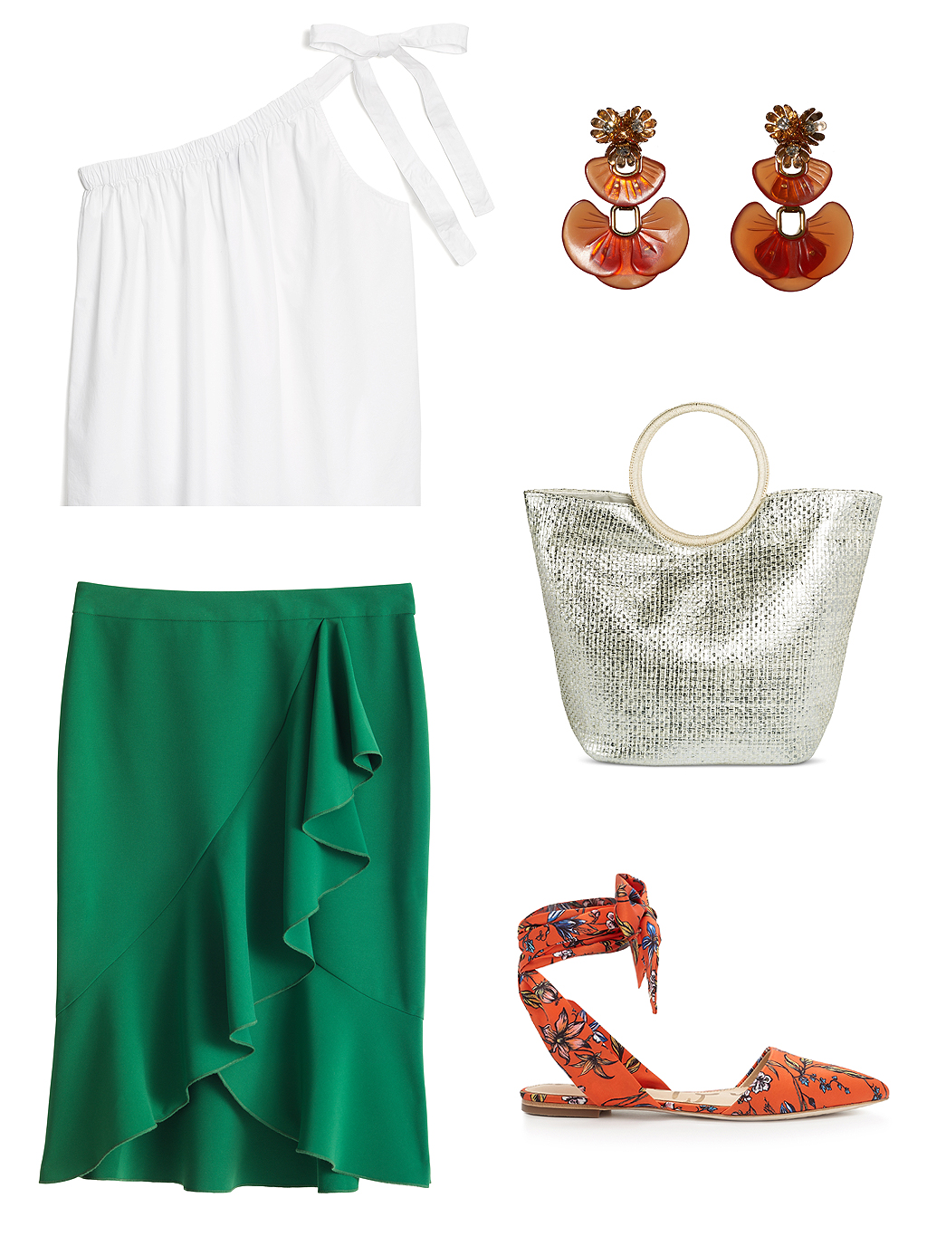 THE TREND: A Ruffle Skirt