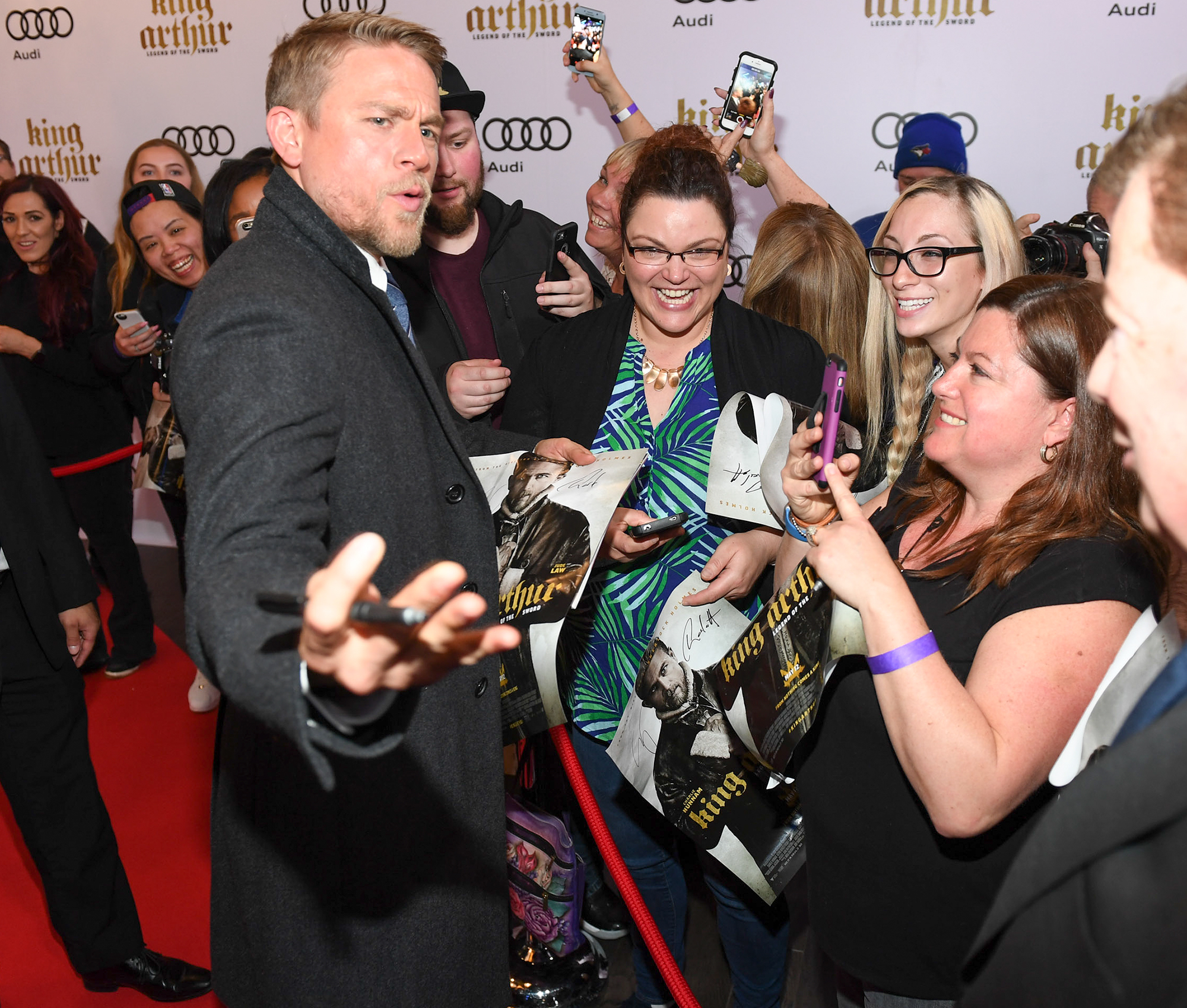 """""""King Arthur: Legend Of The Sword"""" Canadian Premiere Screening Presented By Audi"""