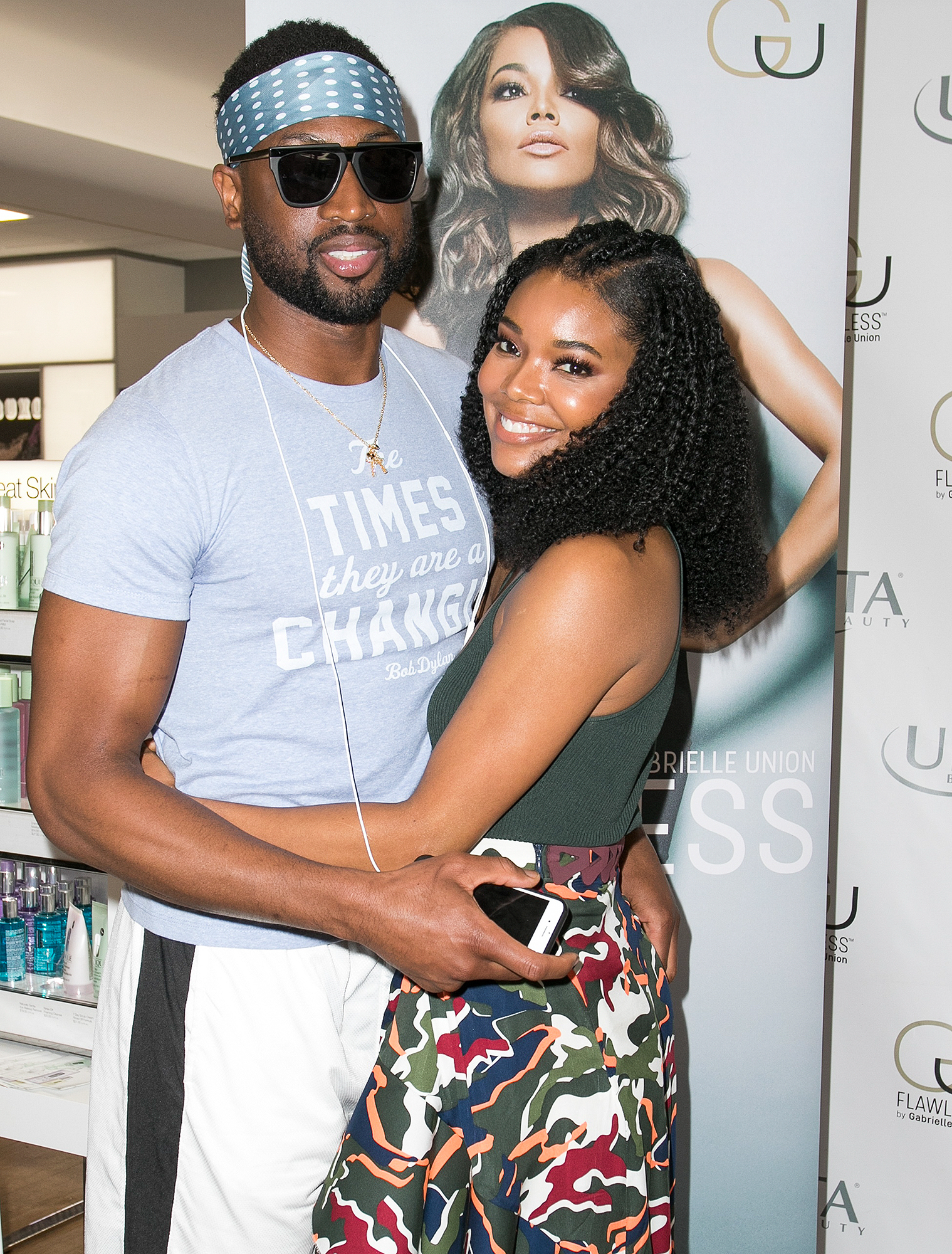 Gabrielle Union Appearance At Ulta Beauty Miami