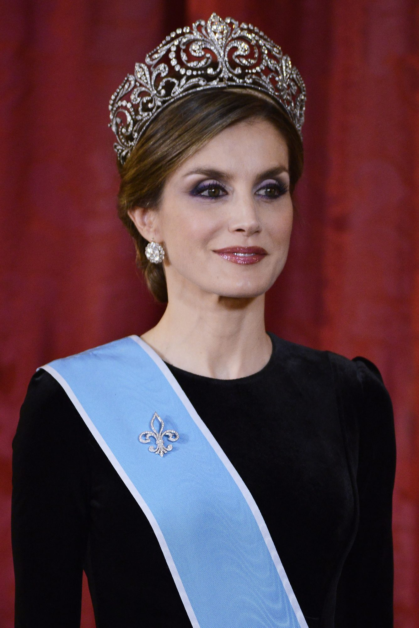 Official Dinner Of Spanish Royals And President Mauricio Macri And Wife