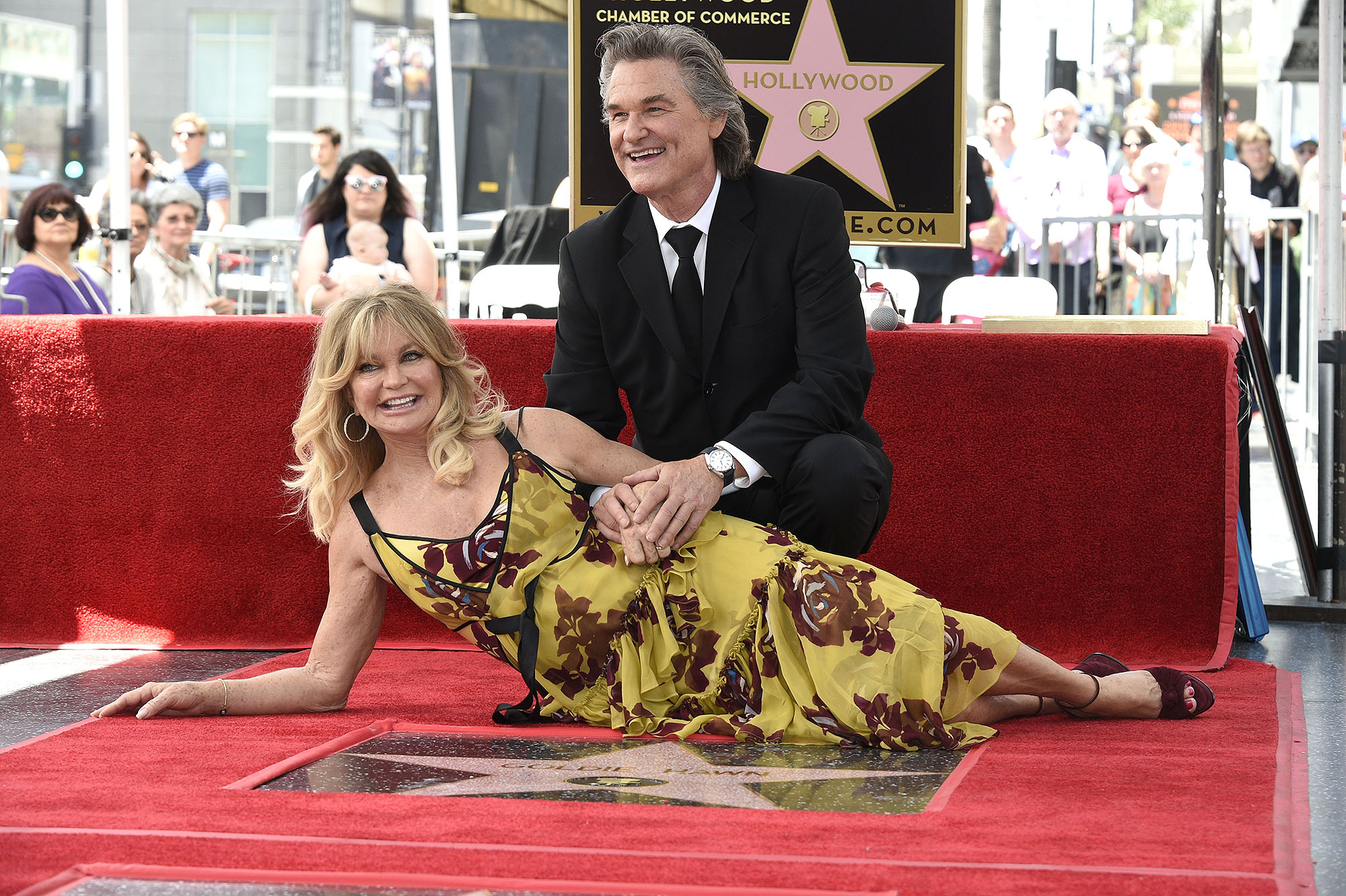 Goldie Hawn Kurt Russell Young