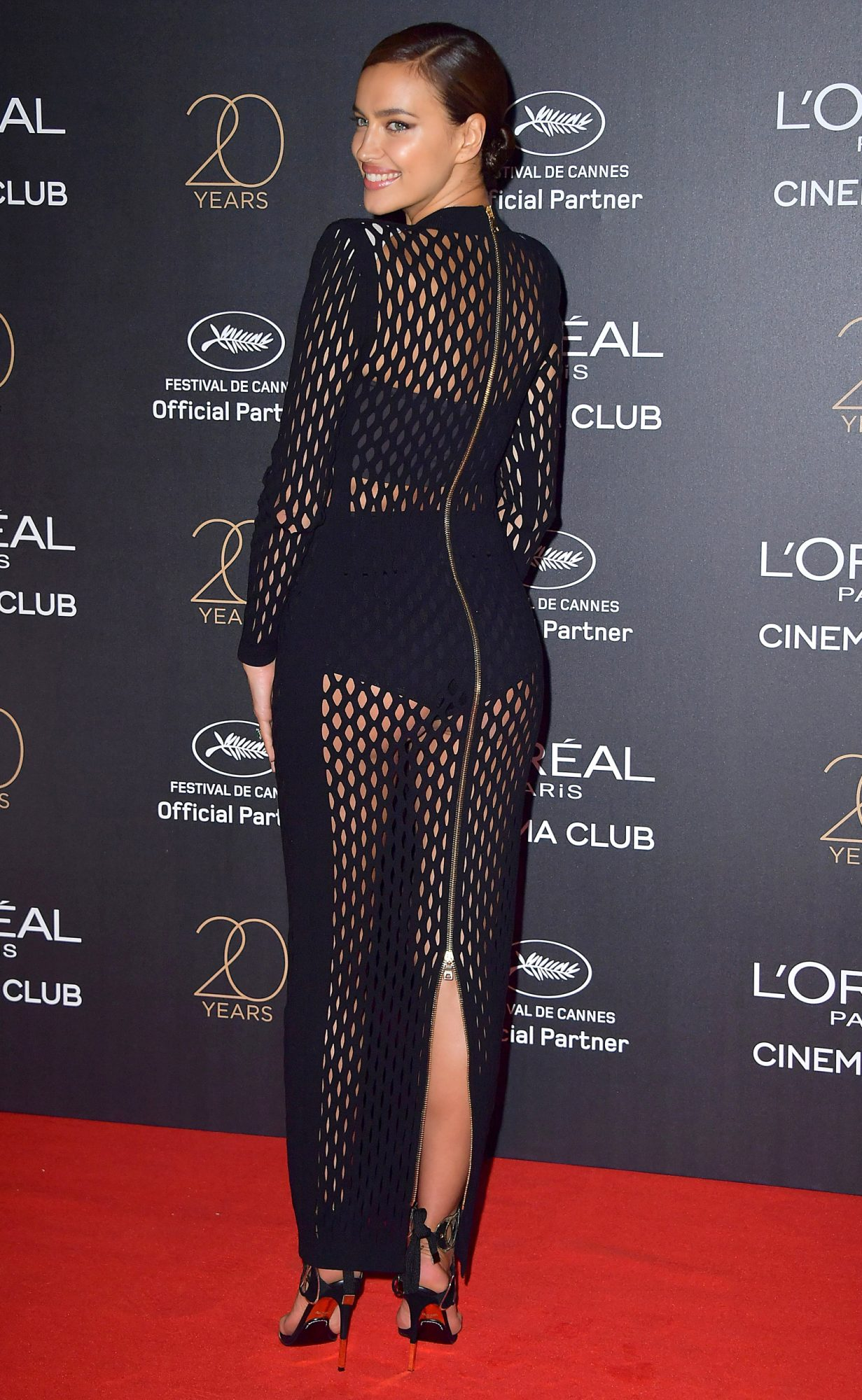20th Birthday Gala Of L'Oreal during the 70th annual Cannes Film Festival