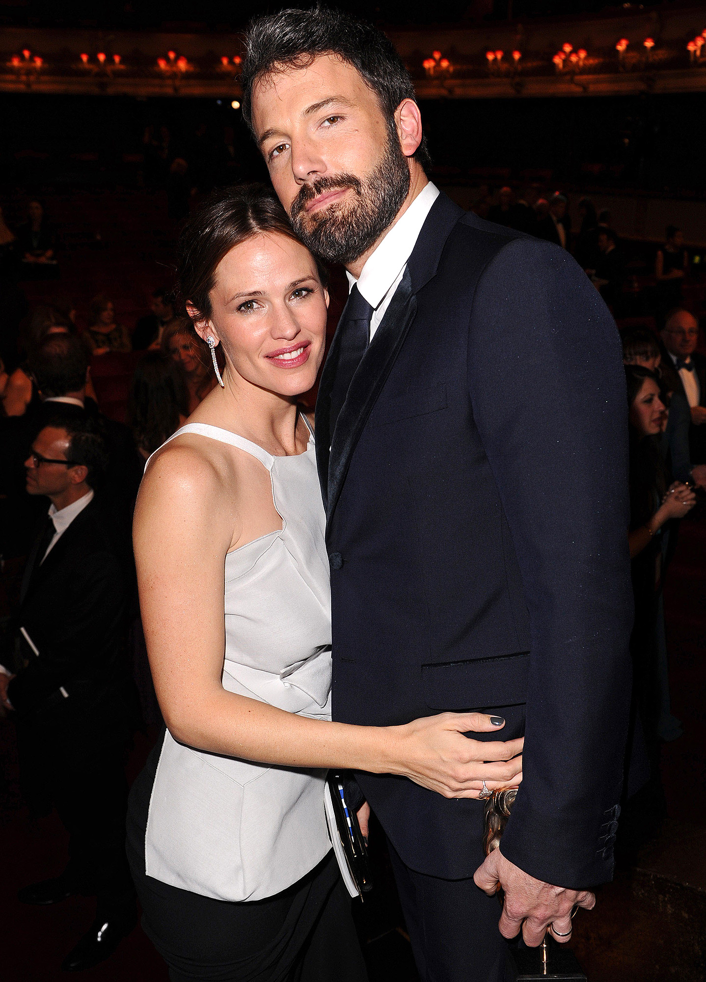Jennifer Garner and Ben Affleck (2015)