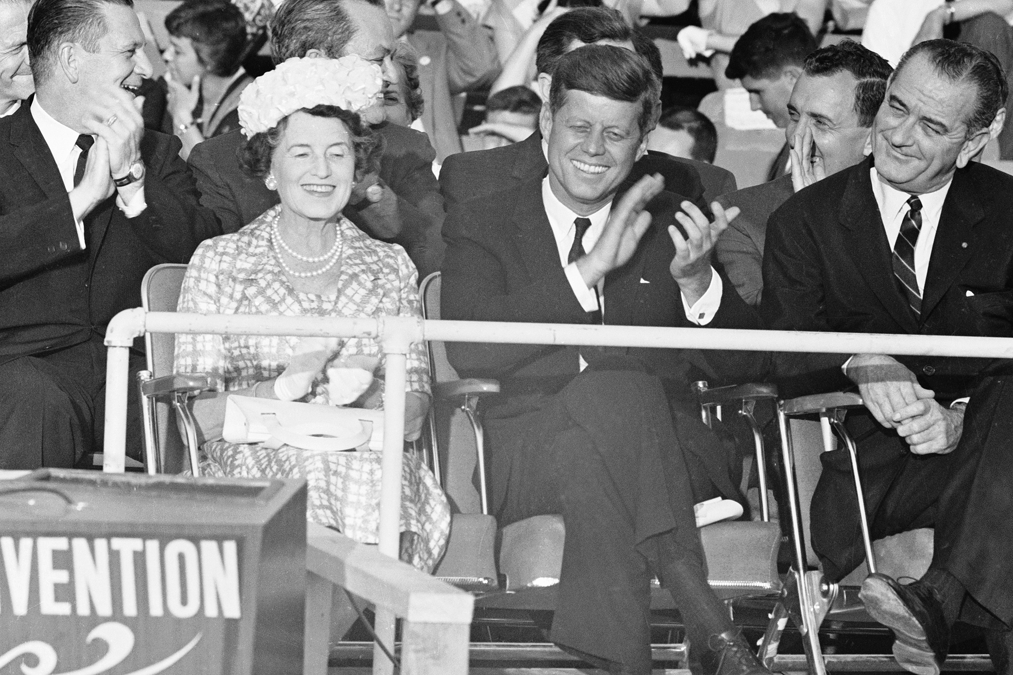 John F Kennedy with His Mother Rose Kennedy