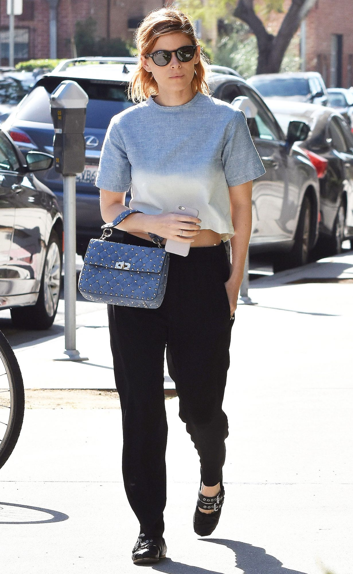 Kate Mara Out And About In Westwood