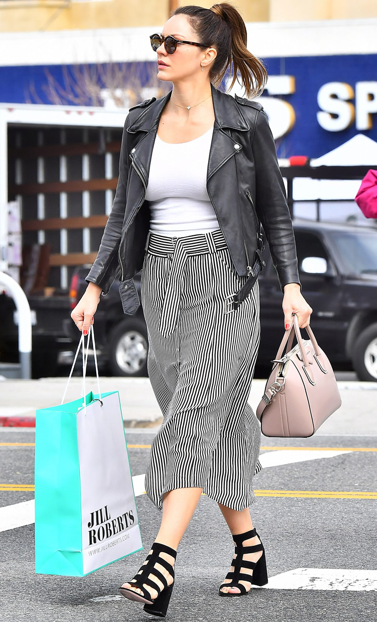 EXCLUSIVE: Katharine McPhee on a Beverly Hills Shopping Spree