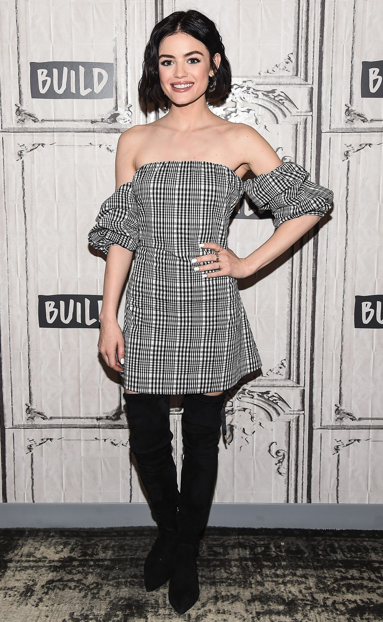 "Build Series Presents Lucy Hale Discussing ""Pretty Little Liars"""