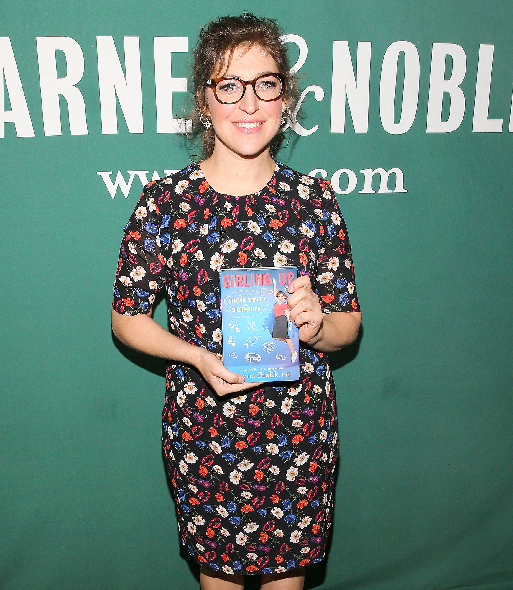 """Mayim Bialik Signs Copies Of Her New Book """"Girling Up: How To Be Strong, Smart, And Spectacular"""""""