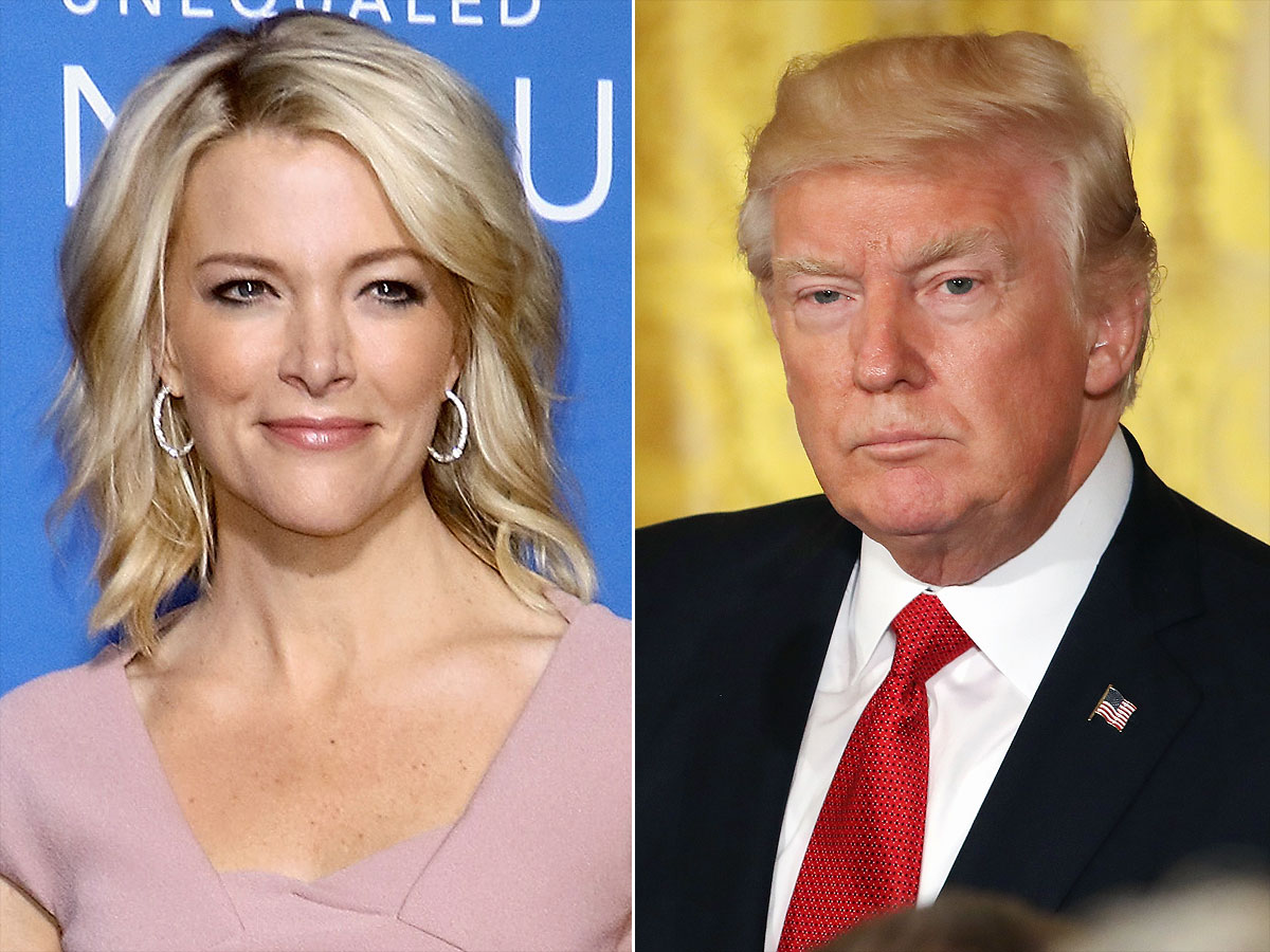 Megyn Kelly Donald TrumpCredit: Jim Spellman/WireImage; Mark Wilson/Getty