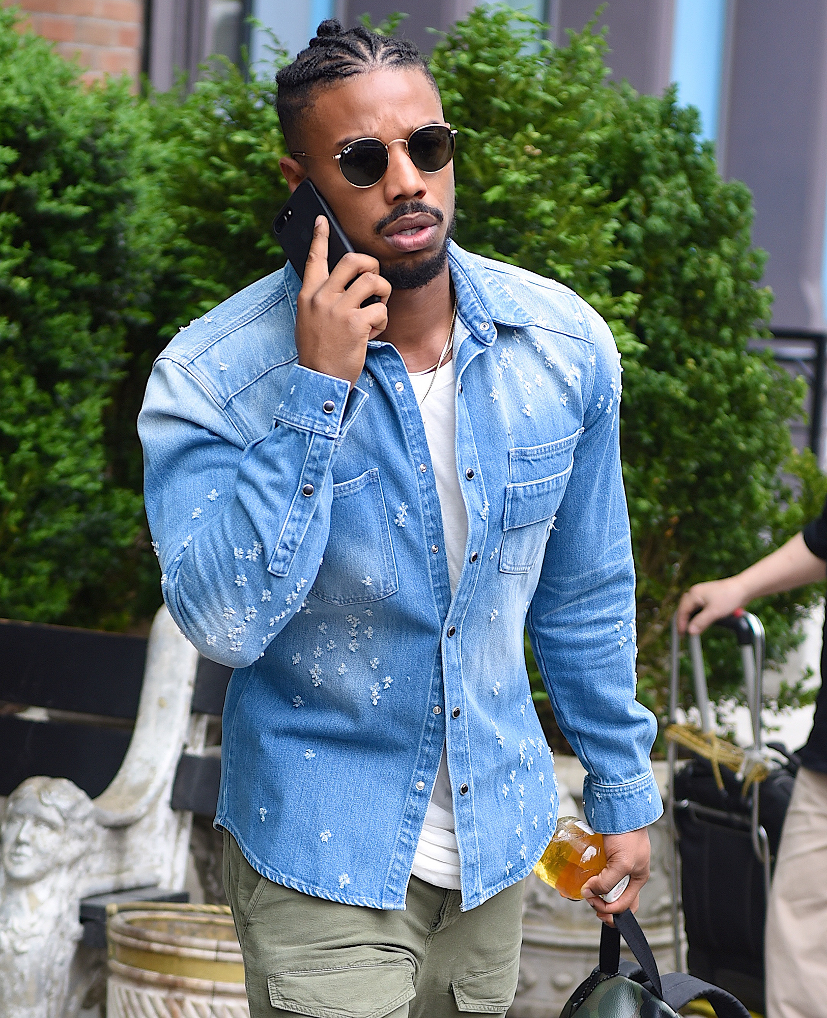 Celebrity Sightings in New York City - May 3, 2016